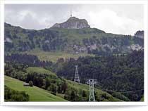 Brülisau: Luftseilbahn Hoher Kasten