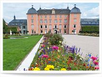 Schloss Schwetzingen mit Schlossgarten