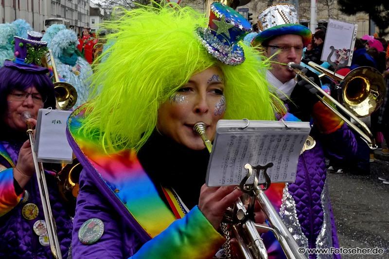 Karnevalsumzug in Karlsruhe – Durlach